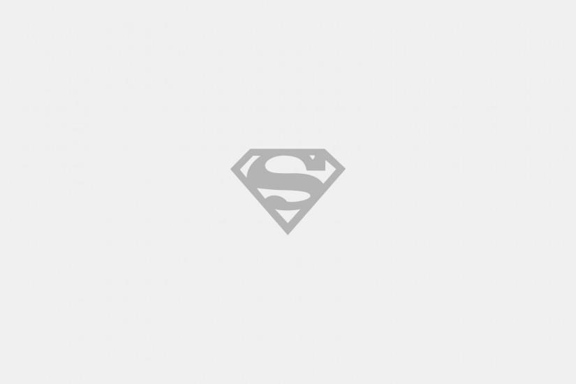 Logos Minimalistic Superman Logo Wallpaper