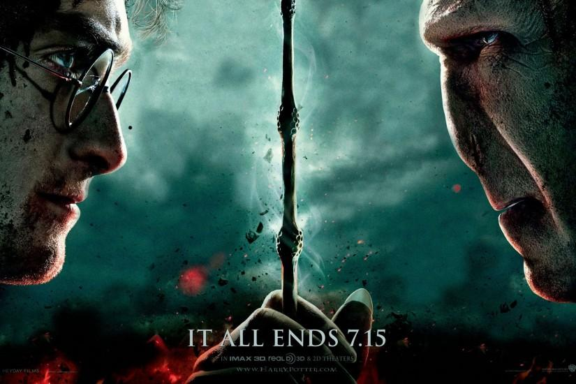 Harry Potter and the Deathly Hallows – Part 2 Wallpaper (Mac .