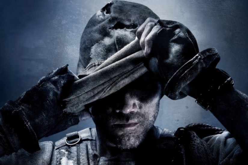 1920 x 1080 - Call of Duty Ghosts Wallpaper - Removing Mask