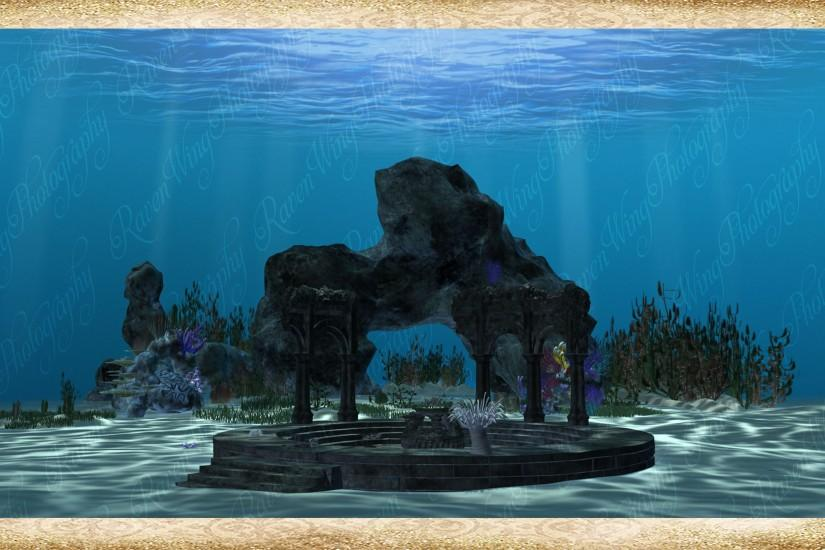 ... Under the sea Background by Just-A-Little-Knotty