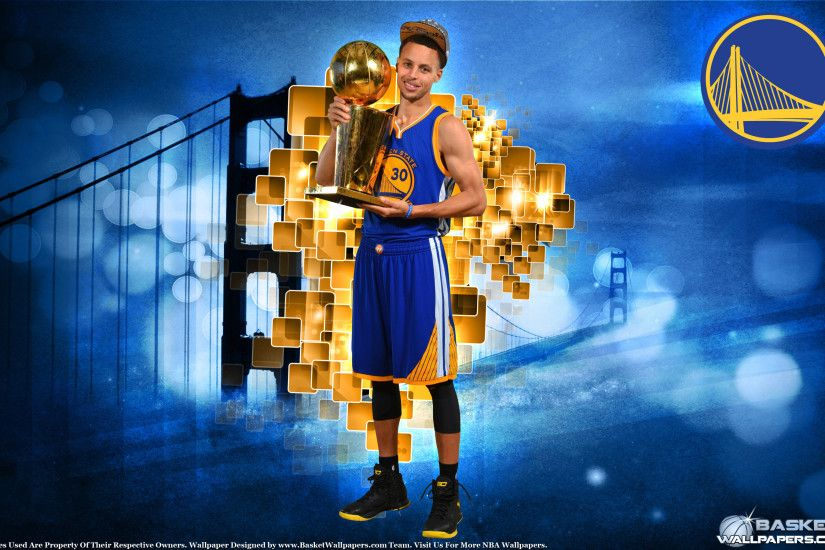 Stephen Curry 2015 NBA Champion 2880×1800 Wallpaper