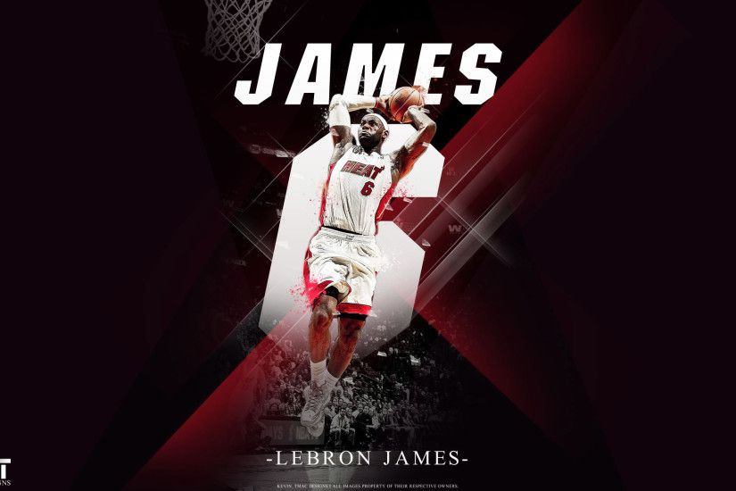Free 64 Wallpapers – LeBron James Miami Heat Dunk wallpaper .
