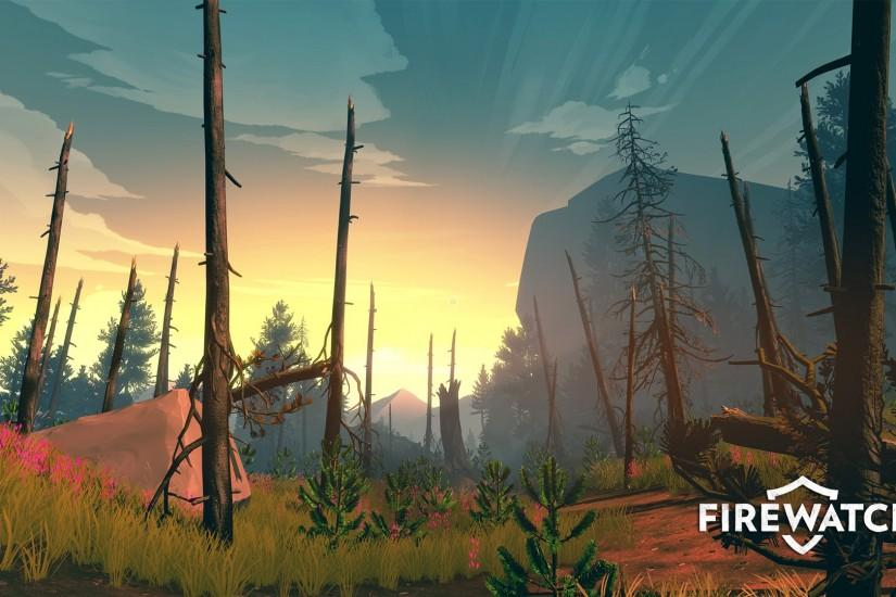 firewatch wallpaper 1920x1080 for phone