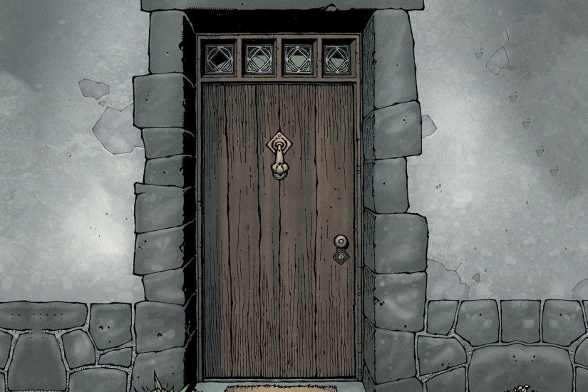Welcome Door - Tap to see more awesome Lovecraft wallpapers! | @mobile9