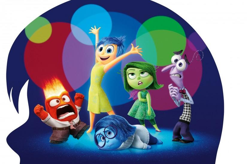 Inside Out, Disney, Pixar Animation Studios, Animated Movies, Movies  Wallpaper HD