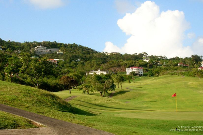Free Wallpaper – St. Lucia Golf Course