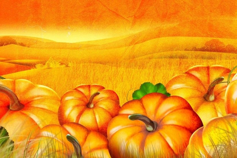 Free Desktop Pumpkin Wallpapers HD.