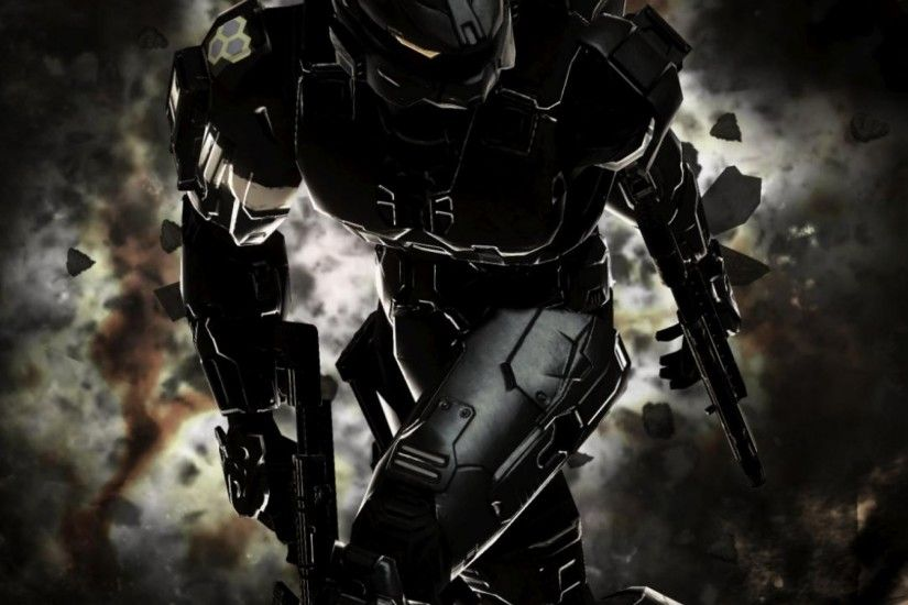 Preview wallpaper halo, master chief, spartan, halo 3 2048x2048