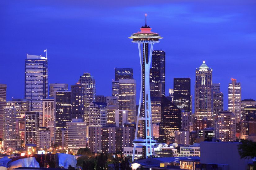 seattle skyline wallpaper 20859