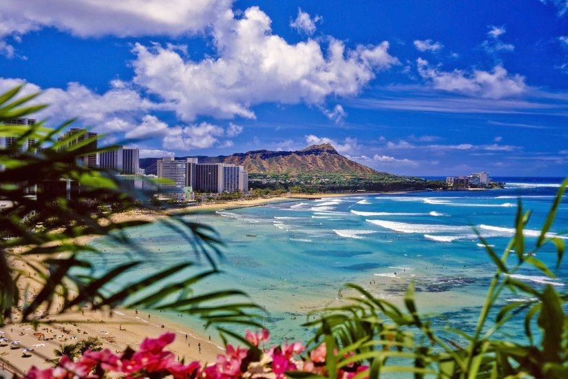 3200x1924 Download Waikiki Beach Wallpaper 4