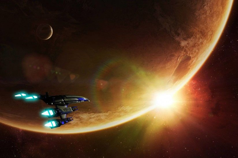 PreviousNext. Previous Image Next Image. download hd wallpapers of 23215 mass  effect normandy ...