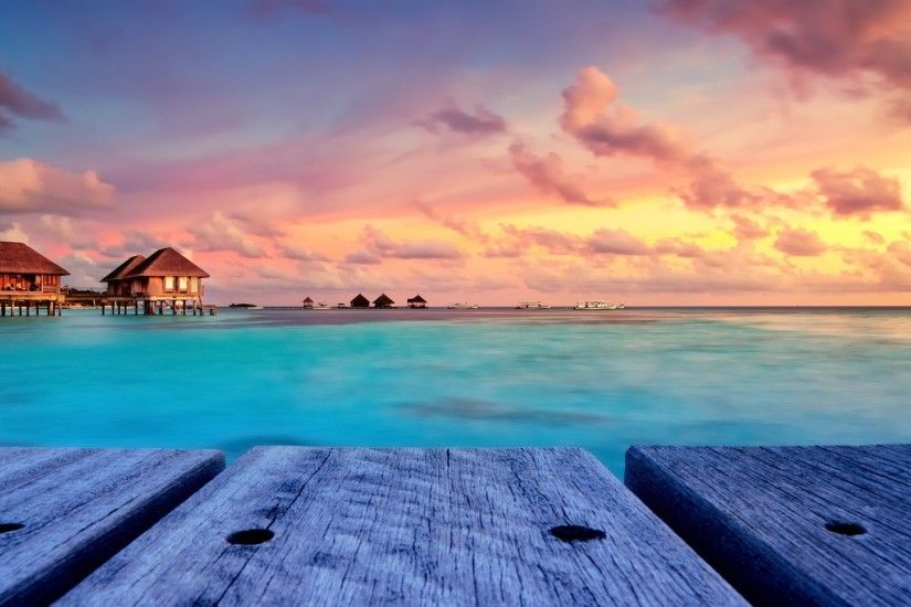 Tropical Island Beach Landscape Wallpaper: Tropical Island Desktop Wallpaper ·① WallpaperTag