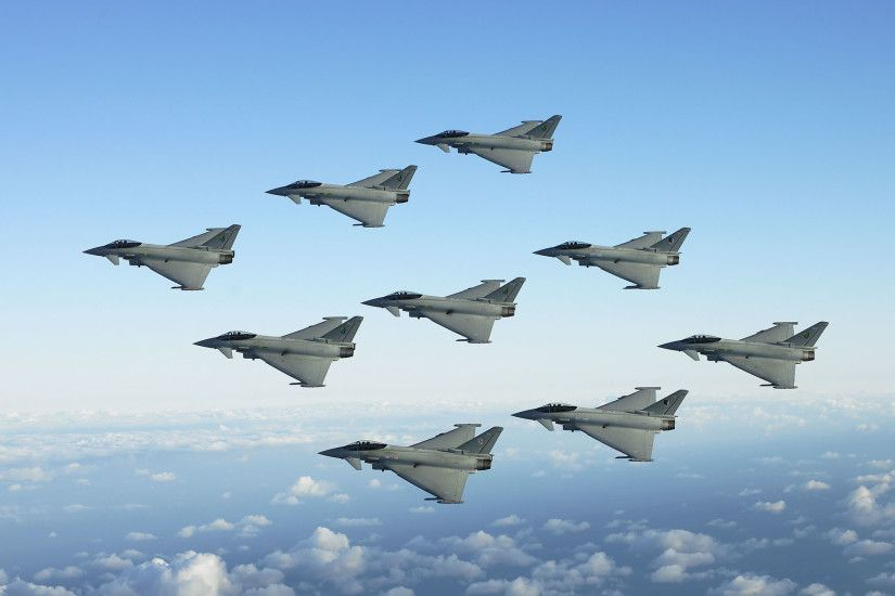 Jet Fighters Formation