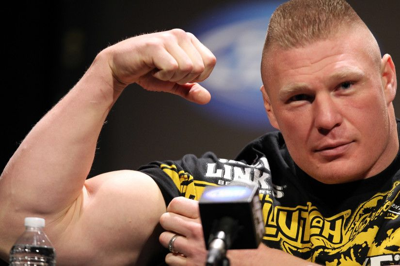 SANTA MONICA, CA - NOVEMBER 11: Brock Lesnar attends the UFC 141: Lesnar