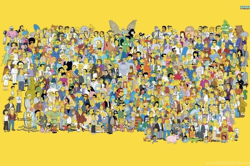 The Simpsons Wallpaper.