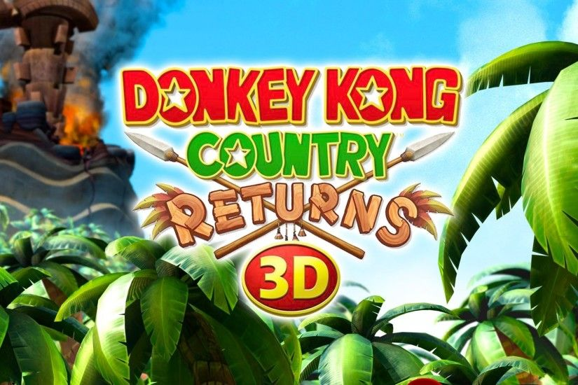 Donkey Kong Country Returns HD Wallpaper 22 - 1920 X 1080