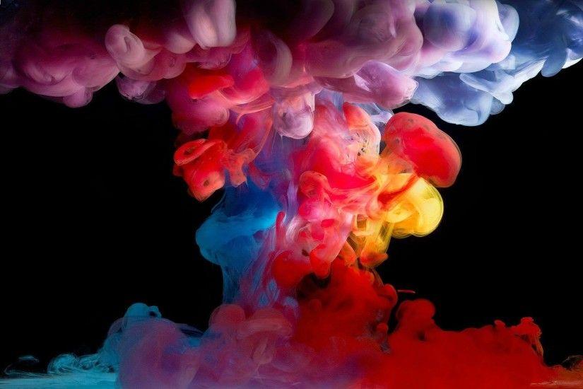 Colorful Paint Splatter HD Desktop Wallpaper High Definition