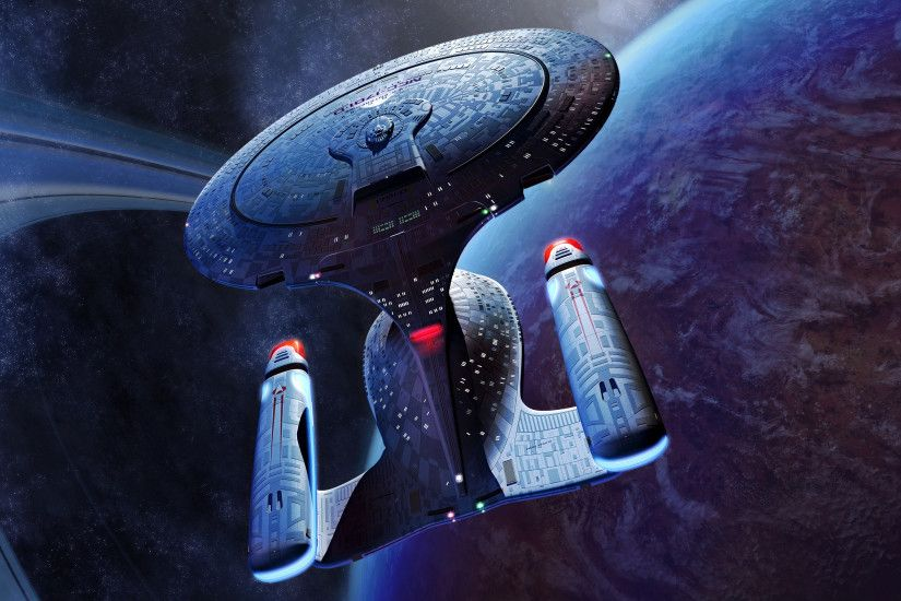 Star Trek Enterprise D wallpaper
