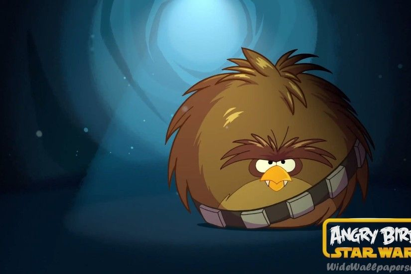 Angry Birds Star Wars Chewbacca Wallpaper
