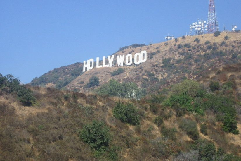 Hollywood Sign By Screamkw Resolution 1920X1440 Pixelawesome Desktop
