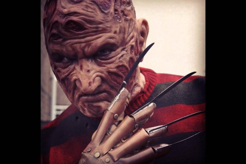 New HD video of my Part 1 Freddy Krueger Costume with silicone mask -  YouTube