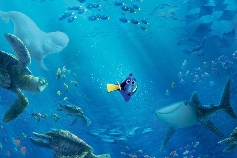 HD Wallpaper | Background ID:710865. 1920x1080 Movie Finding Dory