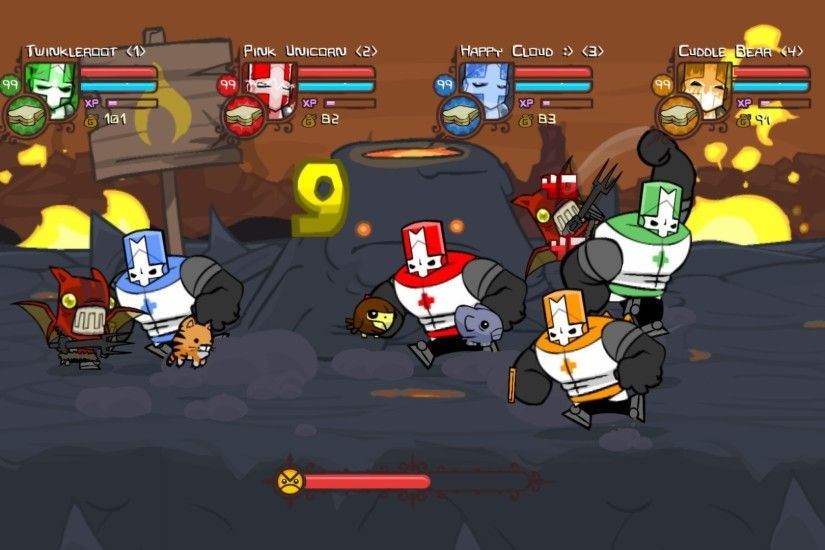 Castle Crashers Necromancer Boss - Viewing Gallery