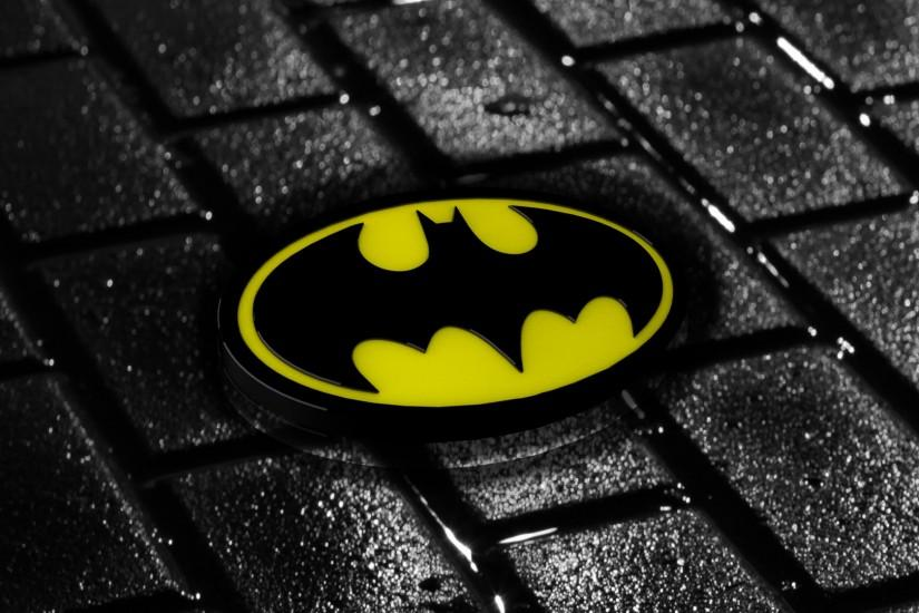 beautiful batman logo wallpaper 1920x1080 xiaomi