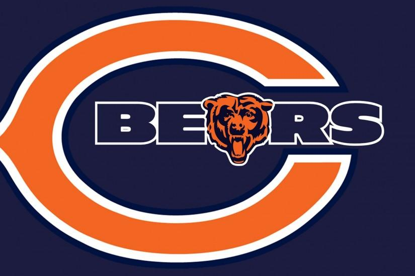 Download Chicago Bears logo Hd 1080p Wallpaper screen size 1920X1080