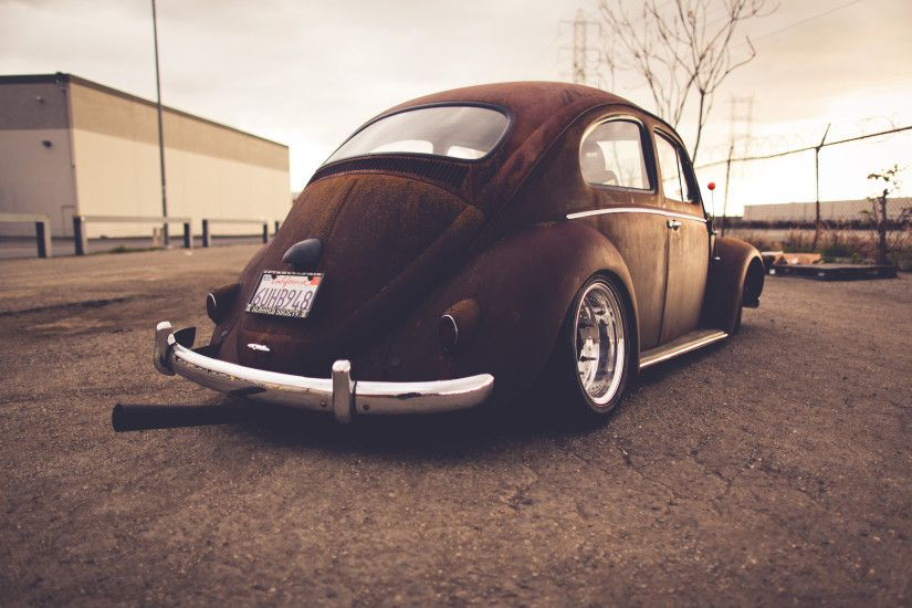 Volkswagen Bug Classic Car Classic Rust Warm Wheel tuning lowrider r  wallpaper | 2560x1600 | 45582 | WallpaperUP