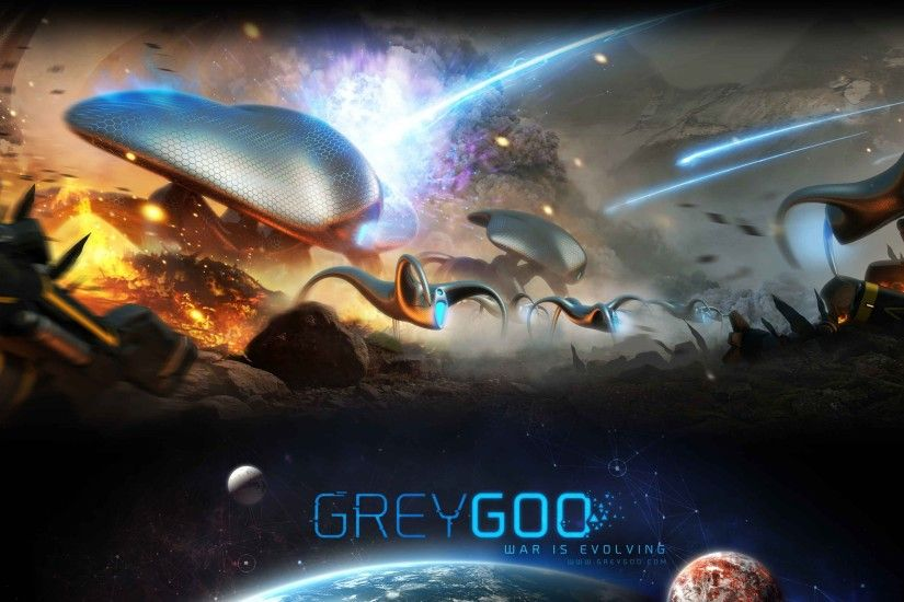 Wallpaper Grey goo game space war fire planet aliens weapon #870  CoolWallpapers.site