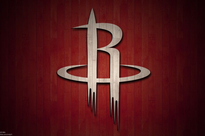 NBA 2017 Houston Rockets hardwood logo desktop wallpaper ...