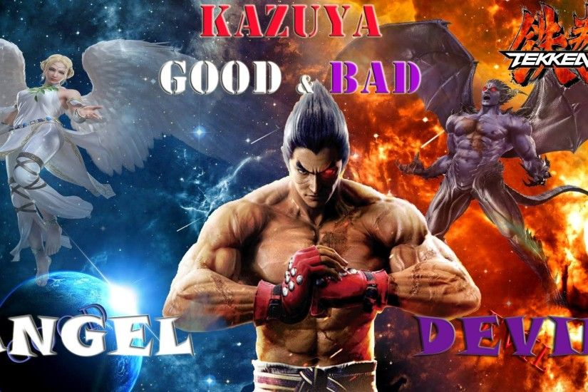 Tekken 7 Theory: Kazuya Good & Evil Sides (Angel & Devil) Explanation -  YouTube
