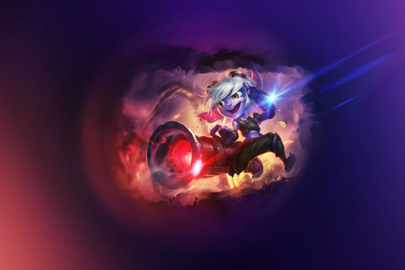 ... Tristana ~ League of legends - Wallpaper by Aynoe