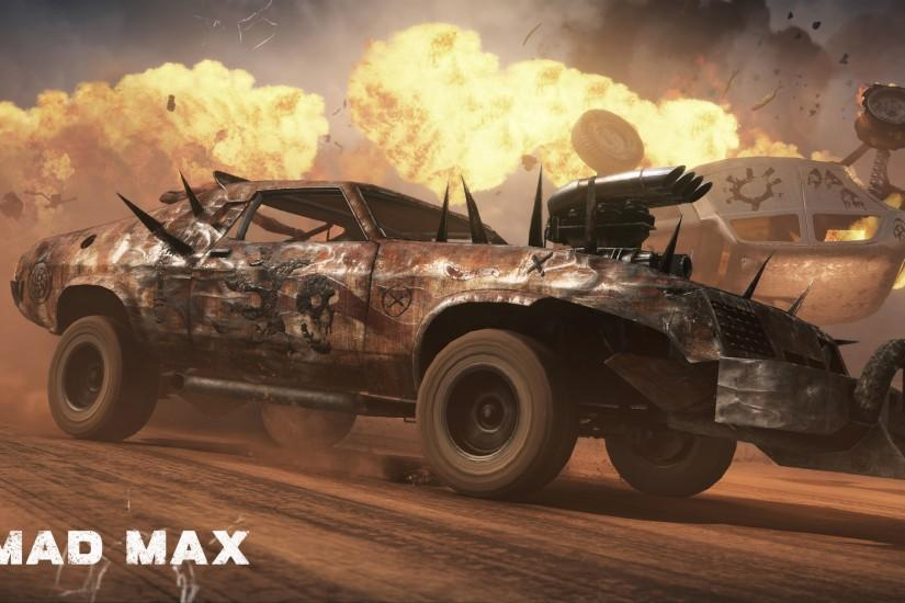 widescreen mad max wallpaper 3840x2160