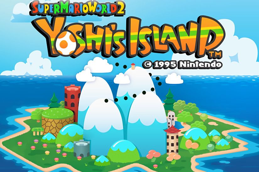 Video Game Super Mario World 2: Yoshi's Island Wallpaper
