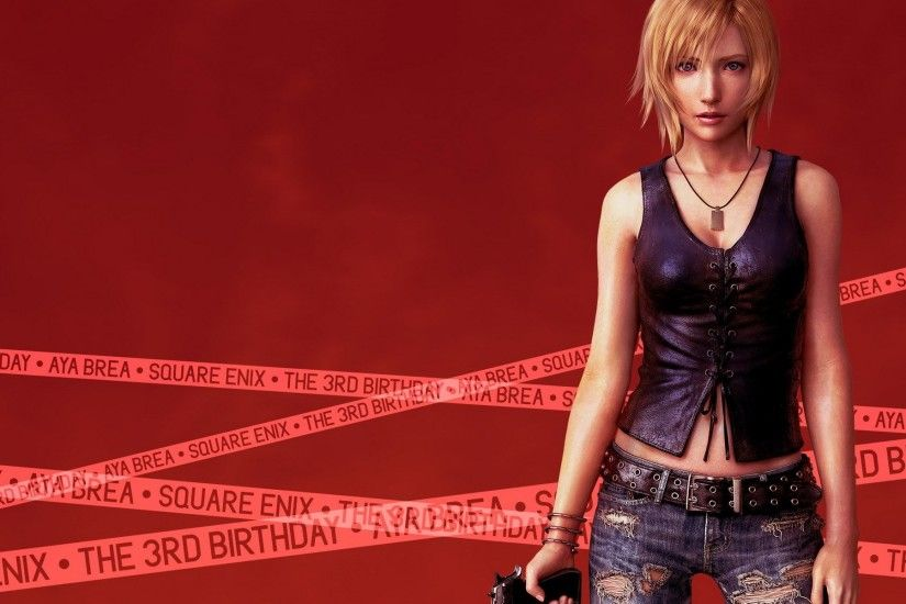 Video Game - Parasite Eve Brea Birthday Wallpaper