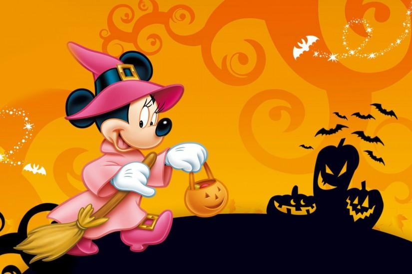 Minnie Mouse during Halloween wallpaper #14069