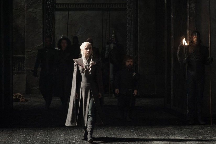Game Of Thrones Season 7 Emilia Clarke As Daenerys
