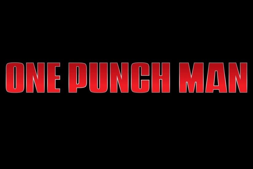 1920x1080 One Punch Man wallpaper taken from the PV ...