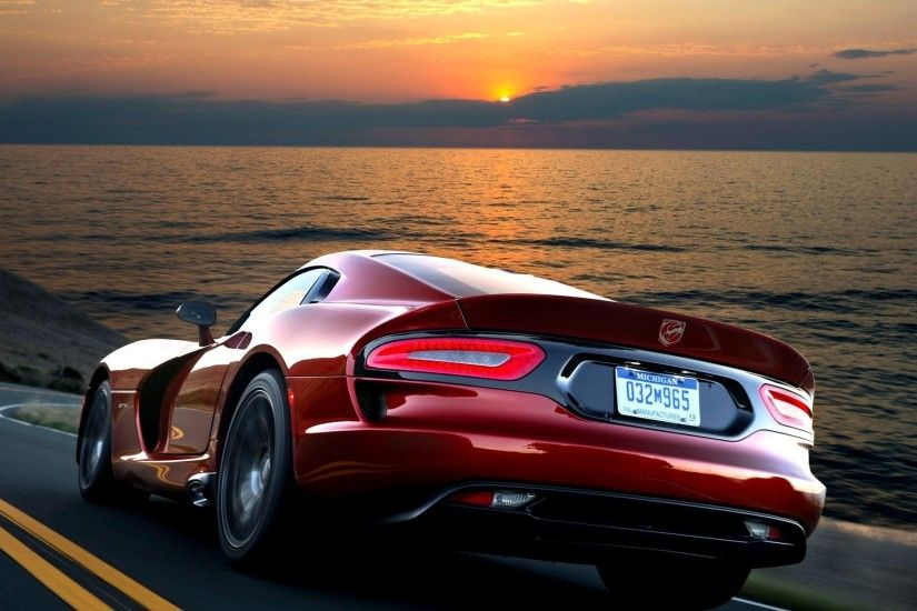 car wallpapers red dodge viper gts srt 2012 speed vehicles wallpapers red  dodge viper back of