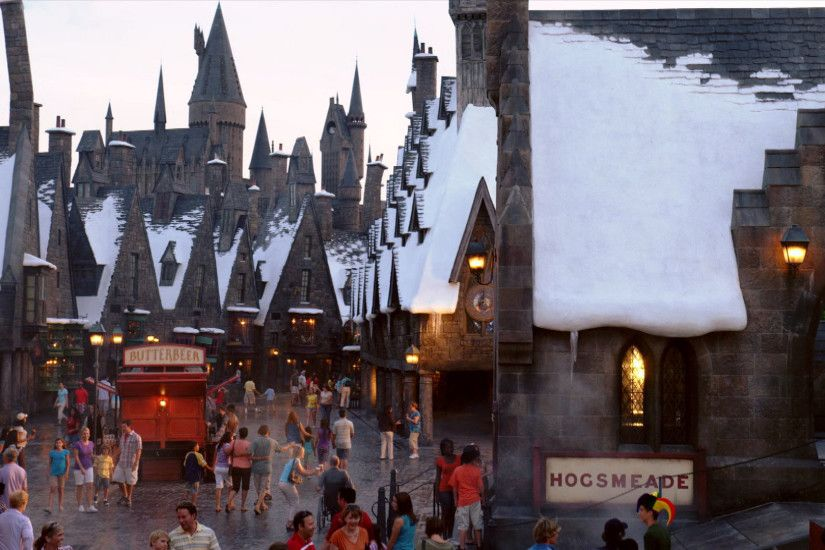 Town of Hogsmeade wallpaper - Click picture for high resolution HD wallpaper
