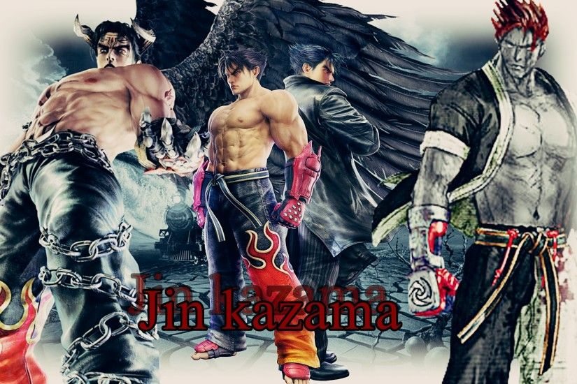 Jin Kazama Wallpaper by MaryLander97 Jin Kazama Wallpaper by MaryLander97