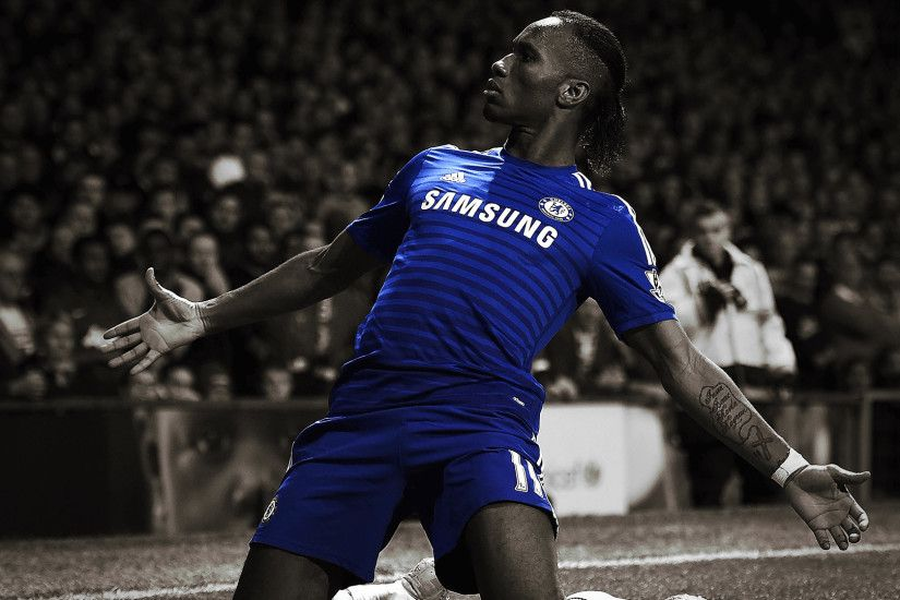 Didier Drogba: King of the Bridge wallpaper