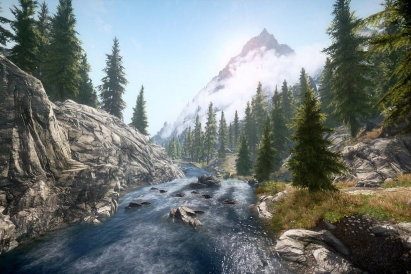 Skyrim Landscape Wallpapers Images