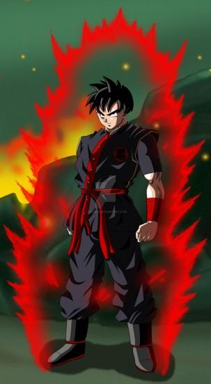 ... DBZ OC with Aura and Background by aashan