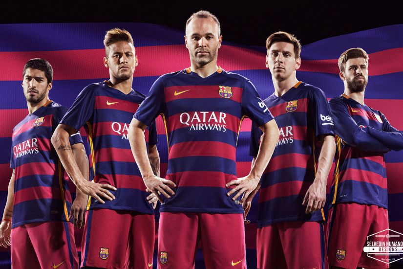 Barcelona 2015/2016 Wallpaper by RakaGFX on DeviantArt Great Fc ...