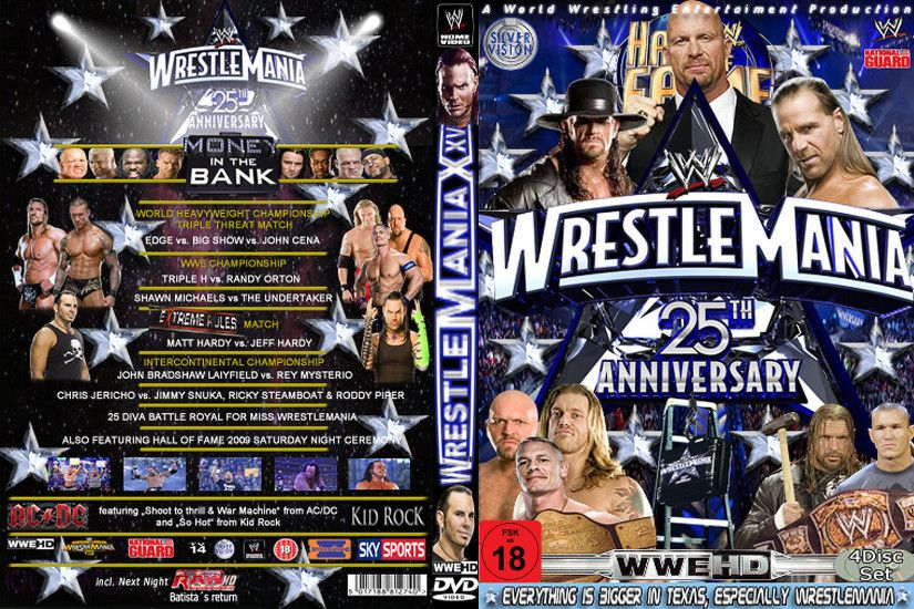 WWE Wrestlemania XXV Cover by AladdinDesign WWE Wrestlemania XXV Cover by  AladdinDesign