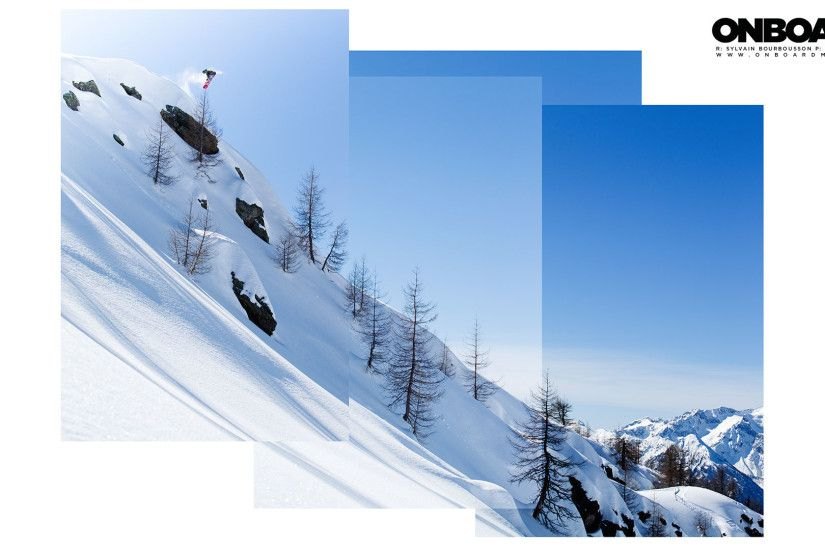 SNOWBOARD WALLPAPER - Sylvain Bourbousson / Cab 540 / Italy