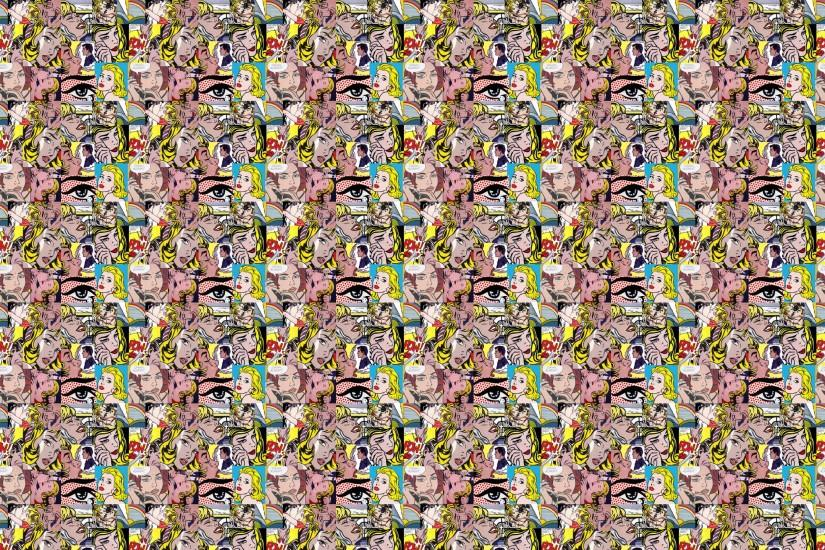 ... Pop Art, 4K Ultra HD Backgrounds, Rona Carlson ...